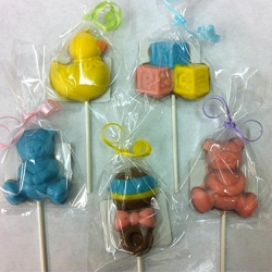 Baby Themed Molded Chocolates