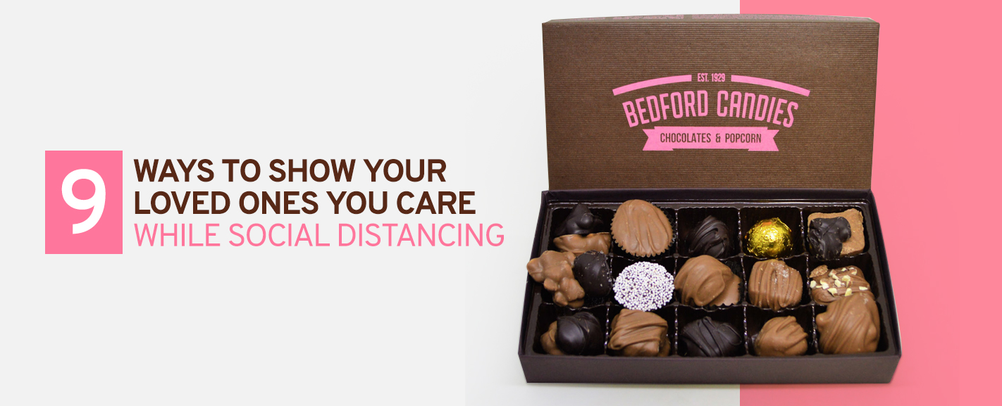 9 ways to show love when social distancing