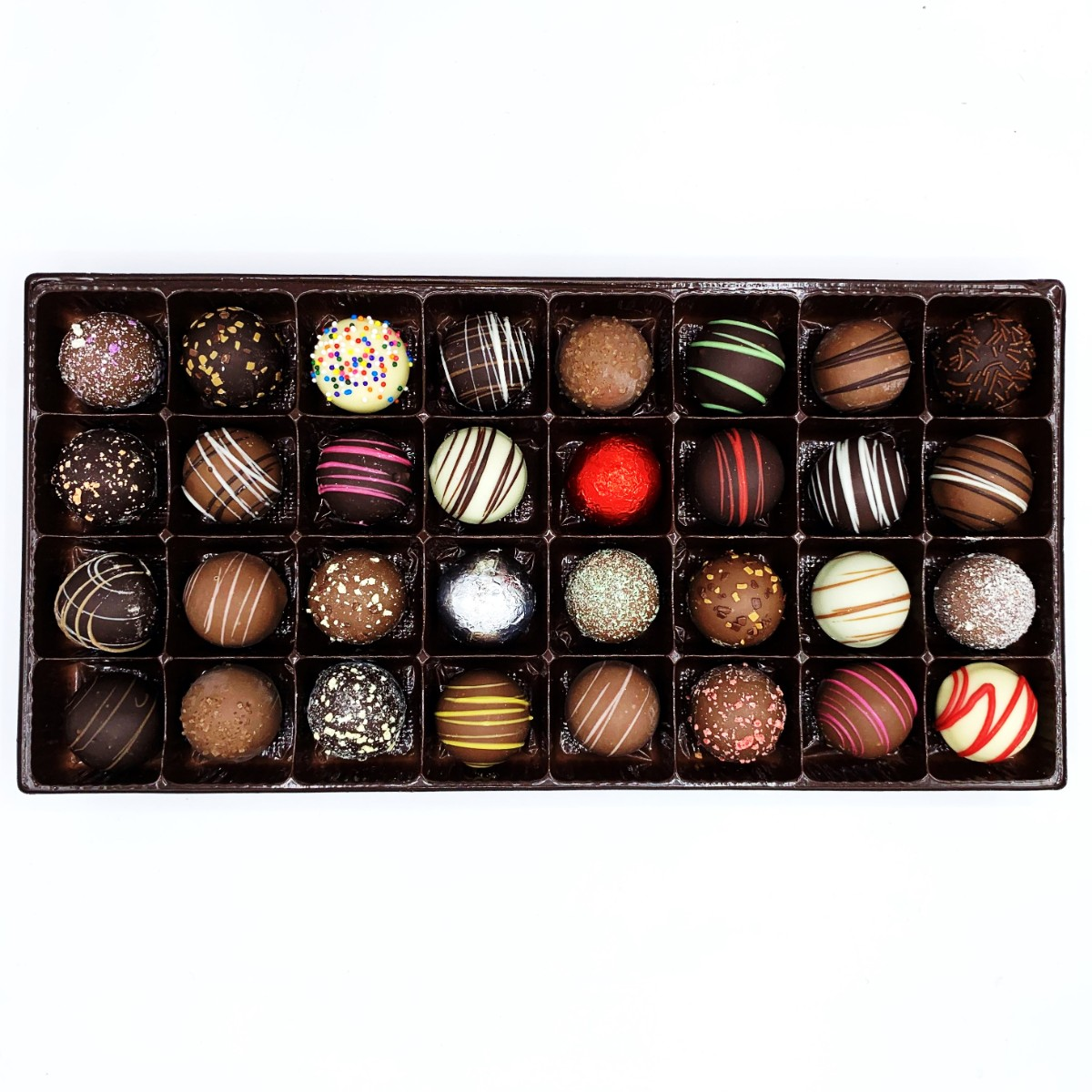 32 CT ASSORTED TRUFFLE GIFT BOX