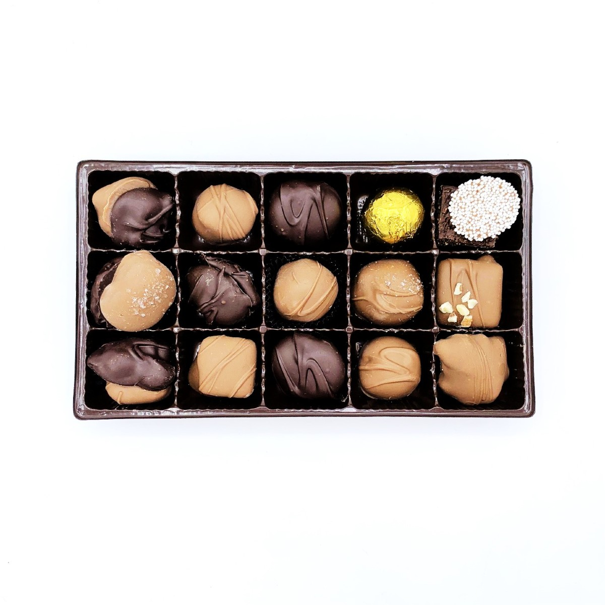 Assorted Milk and Dark Chocolate Gift Box