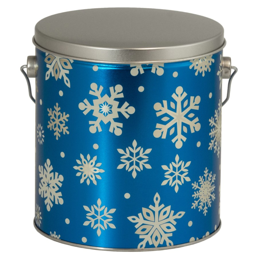 Flurries Gourmet Popcorn Tin