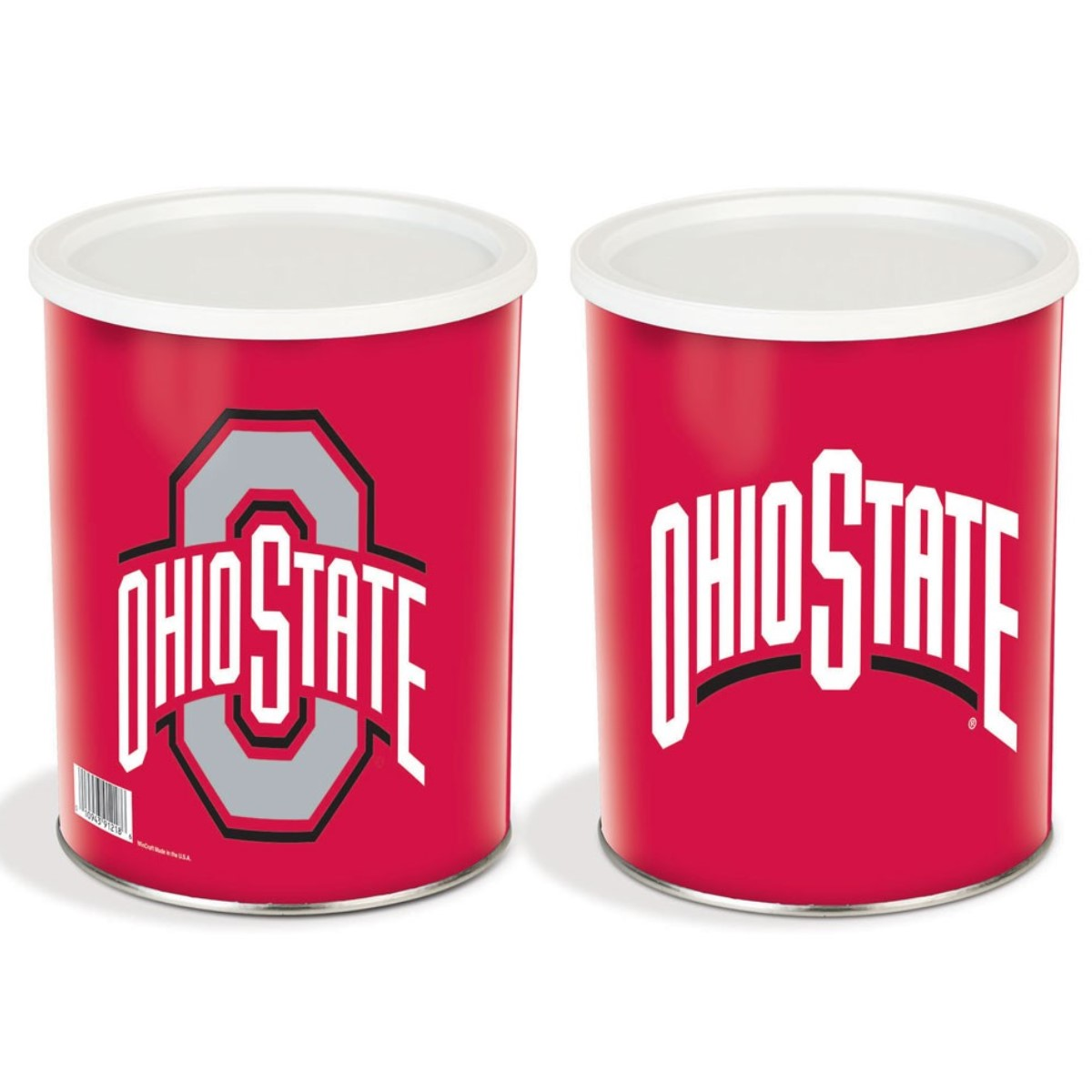 Ohio State Gourmet Popcorn Tin - 1 Gallon