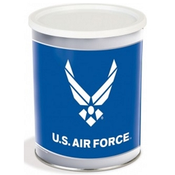 Air Force Gourmet Popcorn Tin - 1 Gallon