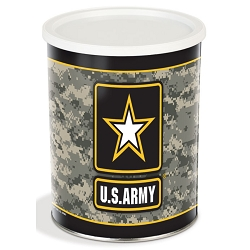 Army Gourmet Popcorn Tin - 1 Gallon