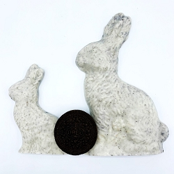 Cookies and Cream Sitting Rabbit