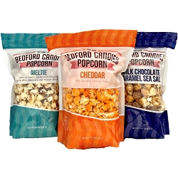POPCORN LOVERS TRIO $32 - SELECT