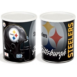 Pittsburgh Steelers Gourmet Popcorn Tin - 1 Gallon