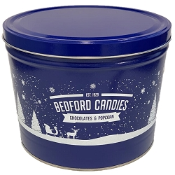 Winter Wonderland Gourmet Popcorn Tin