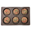 6 Pack Holiday Chocolate Covered Oreos