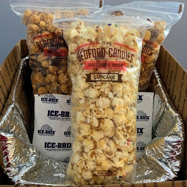 Gourmet Popcorn Trio With Warm Weather Shipping